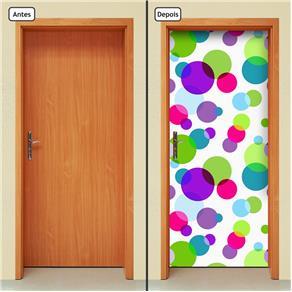 Adesivo Decorativo de Porta - Abstrato - 1506cnpt