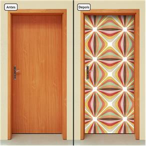 Adesivo Decorativo de Porta - Abstrato - 1508cnpt