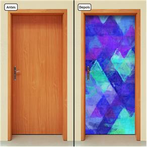 Adesivo Decorativo de Porta - Abstrato - 1225cnpt