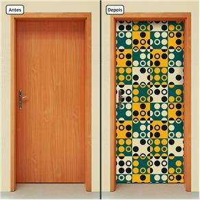 Adesivo Decorativo de Porta - Abstrato - 1640cnpt