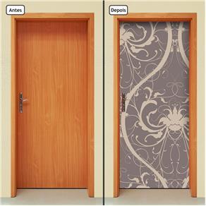 Adesivo Decorativo de Porta - Abstrato - 1644cnpt