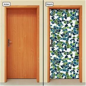 Adesivo Decorativo de Porta - Abstrato - 1646cnpt