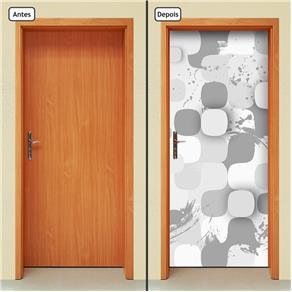 Adesivo Decorativo de Porta - Abstrato - 1650cnpt