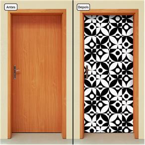 Adesivo Decorativo de Porta - Abstrato - 1651cnpt