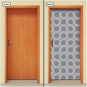 Adesivo Decorativo de Porta - Abstrato - 1660cnpt