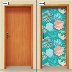 Adesivo Decorativo de Porta - Abstrato - 1663cnpt