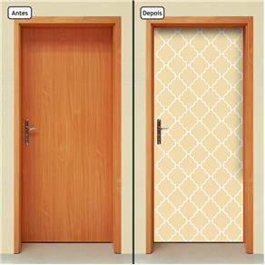 Adesivo Decorativo de Porta - Abstrato - 1673cnpt