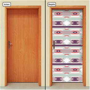 Adesivo Decorativo de Porta - Abstrato - 1685cnpt