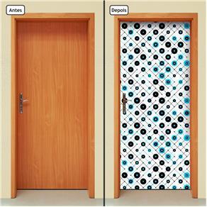 Adesivo Decorativo de Porta - Abstrato - 1638cnpt
