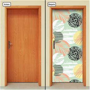 Adesivo Decorativo de Porta - Abstrato - 1691cnpt