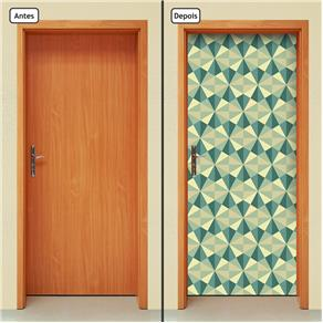 Adesivo Decorativo de Porta - Abstrato - 1832cnpt