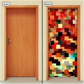 Adesivo Decorativo de Porta - Abstrato - 1223cnpt
