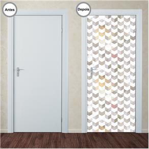 Adesivo Decorativo de Porta - Abstrato - 331pt
