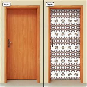Adesivo Decorativo de Porta - Abstrato - 455cnpt