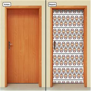 Adesivo Decorativo de Porta - Abstrato - 453cnpt