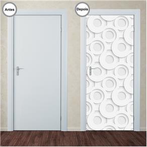 Adesivo Decorativo de Porta - Abstrato - 347pt