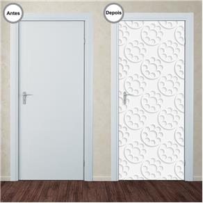 Adesivo Decorativo de Porta - Abstrato - 348pt