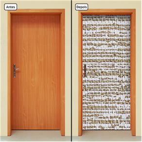 Adesivo Decorativo de Porta - Abstrato - 433cnpt