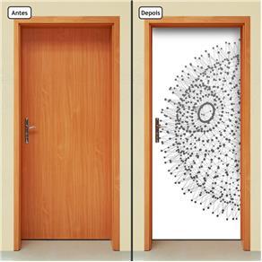 Adesivo Decorativo de Porta - Abstrato - 656cnpt