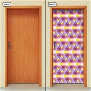 Adesivo Decorativo de Porta - Abstrato - 657cnpt
