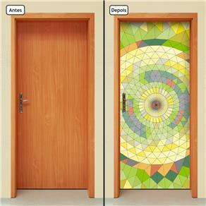 Adesivo Decorativo de Porta - Abstrato - 658cnpt - 0.7 X 0.4 CM