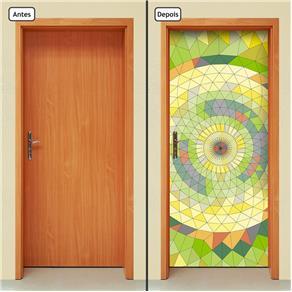Adesivo Decorativo de Porta - Abstrato - 658cnpt