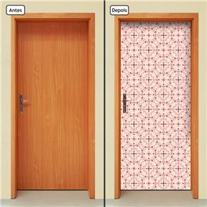 Adesivo Decorativo de Porta - Abstrato - 659cnpt - 0.90 X 2.10 CM