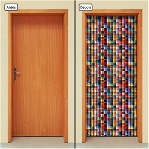 Adesivo Decorativo de Porta - Abstrato - 710cnpt
