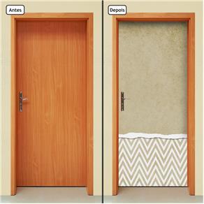 Adesivo Decorativo de Porta - Abstrato - 751cnpt