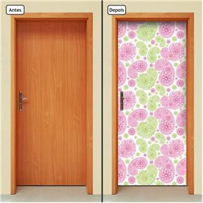 Adesivo Decorativo de Porta - Abstrato - 777cnpt