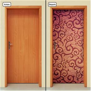 Adesivo Decorativo de Porta - Abstrato - 783cnpt