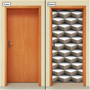 Adesivo Decorativo de Porta - Abstrato - 835cnpt
