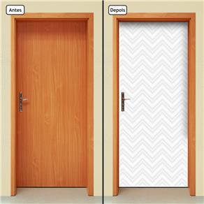 Adesivo Decorativo de Porta - Abstrato - 861cnpt - 0.90 X 2.10 CM
