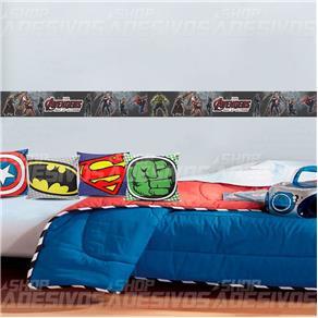 Adesivo Decorativo Faixa os Vingadores - 3m