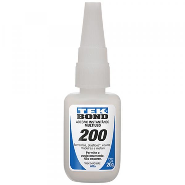 Adesivo Instantâneo 200 20g - Tekbond