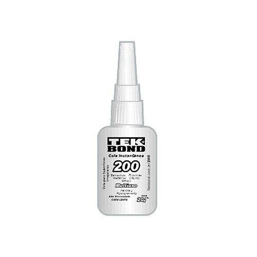 Adesivo Instantâneo 200 20GR - Tekbond