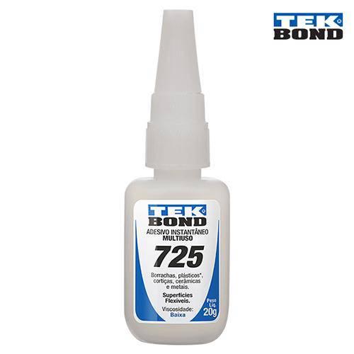 Adesivo Instantâneo 725 20g - Tekbond