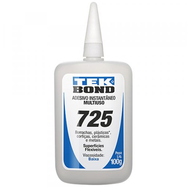 Adesivo Instantâneo 725 100g - Tekbond