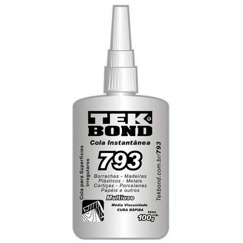 Adesivo Instantâneo 793 100G - Tekbond