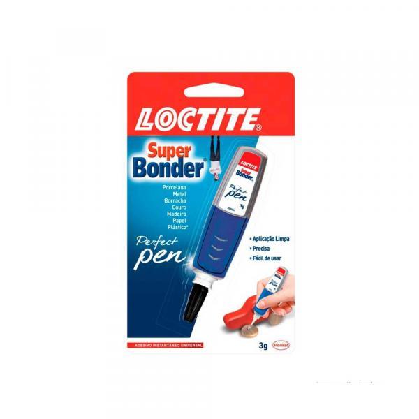 Adesivo Multifuncional Super Bonder Perfect Pen 30g Loctite