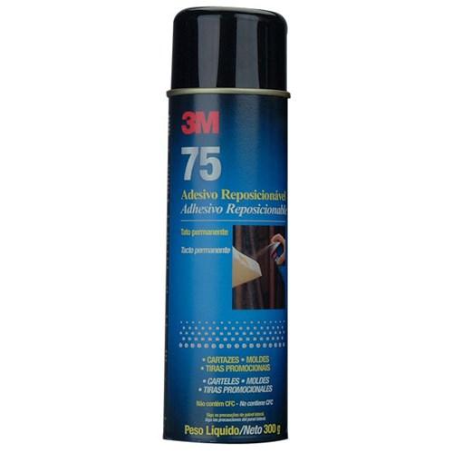 Adesivo Multiuso Spray 75 Reposicionavel 3M 300g