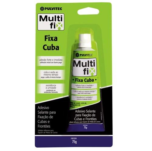 Adesivo para Cuba Multiflix Pulvitec 75g