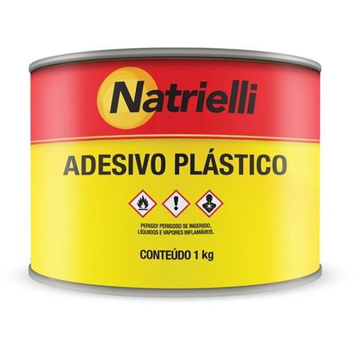 Adesivo Plástico Branco 1Kg Natrielli