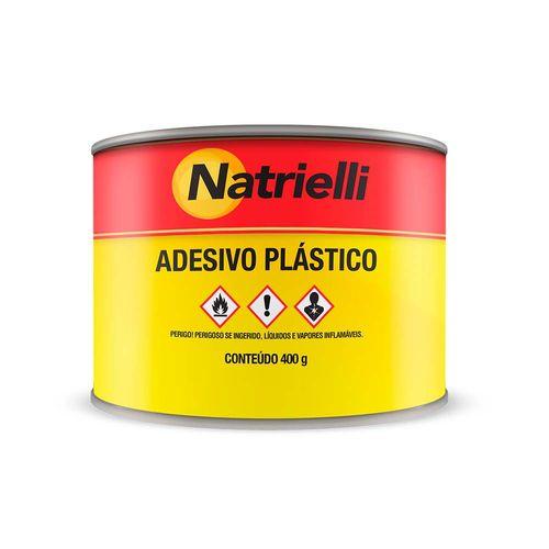 Adesivo Plástico Cinza Natrielli