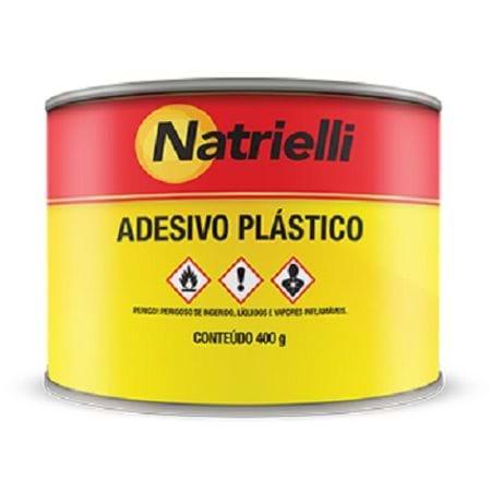 Adesivo Plástico Natrielli 400g Branco Branco