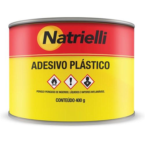 Adesivo Plástico Branco 400g Natrielli