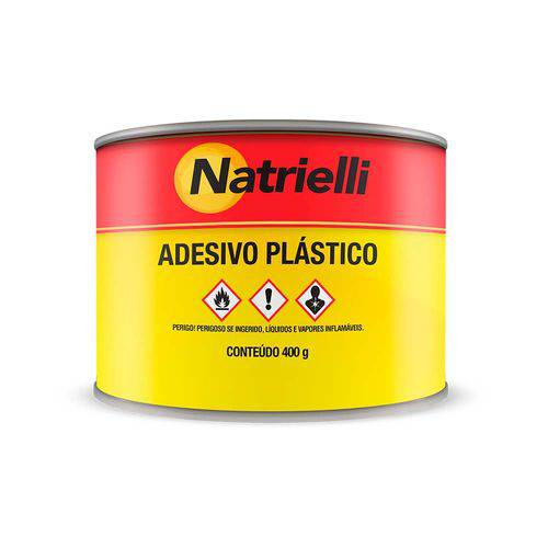 Adesivo Plástico Preto Natrielli