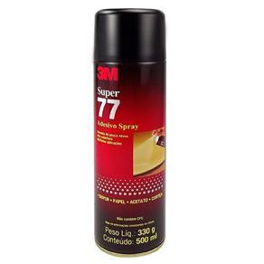 Adesivo Spray Super 77 para Isopor, Papel, Acetato e Cortiça