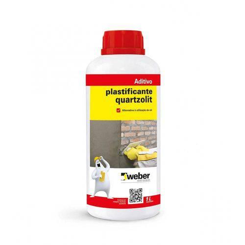 Tudo sobre 'Aditivo Plastificante 1.0lt Quartzolit'