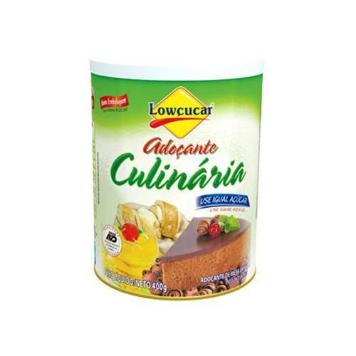 Tudo sobre 'Adoçante Culinária Lowçucar 400g'